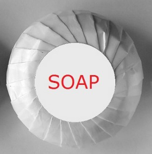 Soap Pleat Wrapper