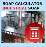 Soap Calculator for Soap Factories